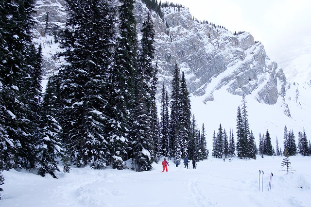 Snowshoeing - Rawson Lake - Jan 2018-9