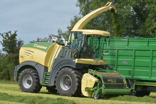 Krone Big X 630 Self Propelled Forage Harvester