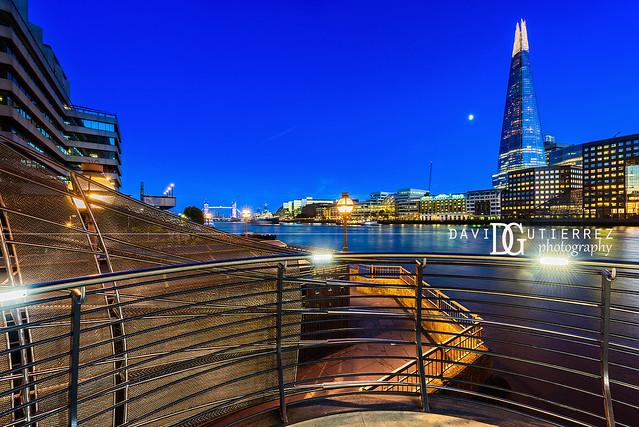 Back To Blue - The Shard, London, UK