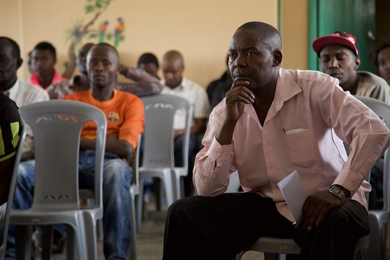 Mathare Aug 2014 - Forum with community leaders