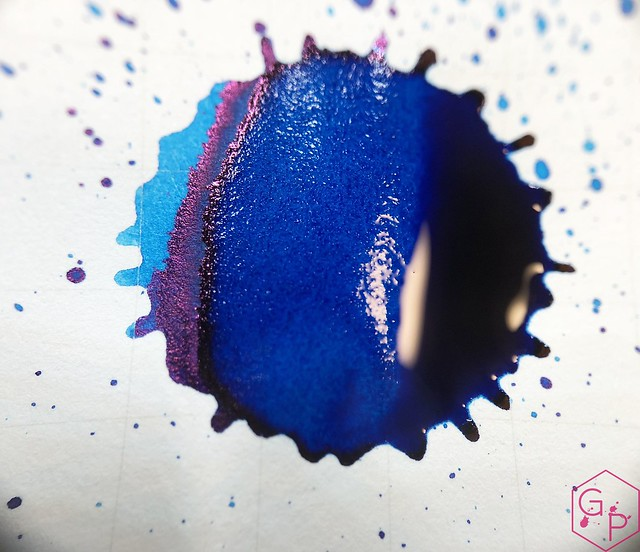 Ink Shot Review @RobertOsterInk Soda Pop Blue @PhidonPens 17