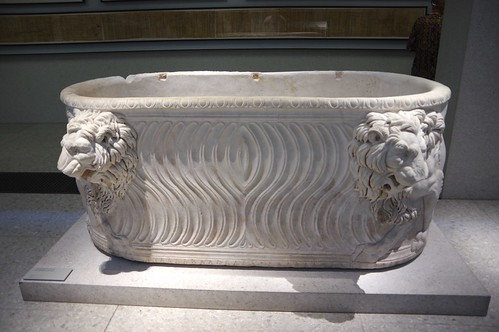 Sarcophagus with Lions