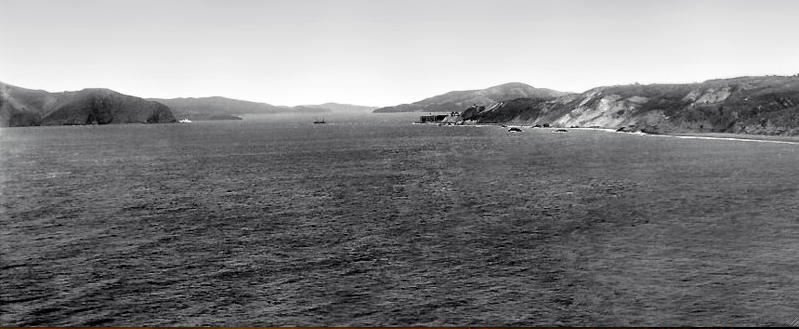Golden Gate from_Lands End, San Francisco, circa 1895