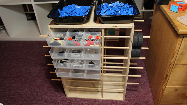 Lego Technic Workshop sorting system