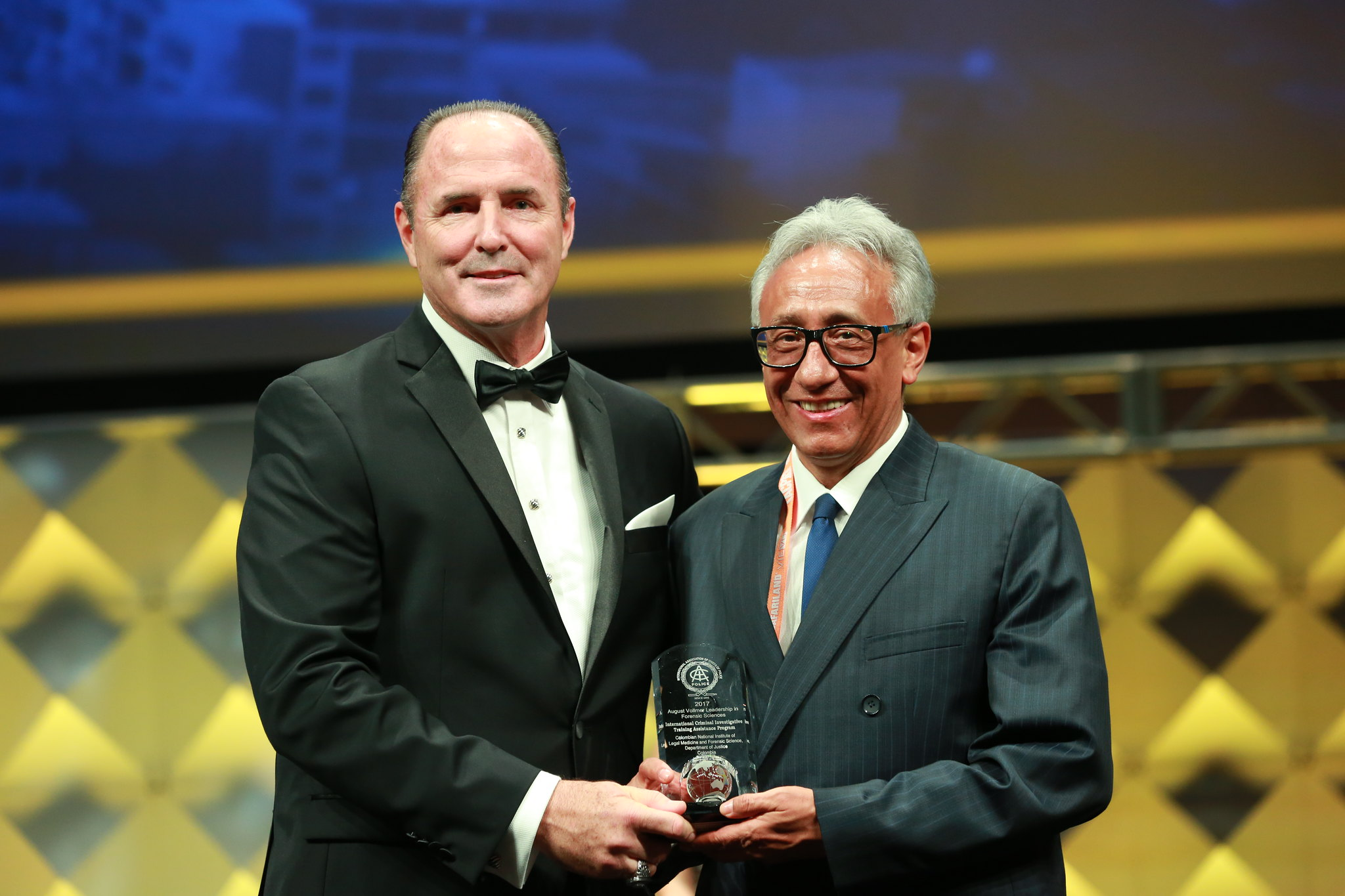 IACP August Vollmer Leadership in Forensic Science Award - Colombian National Institute