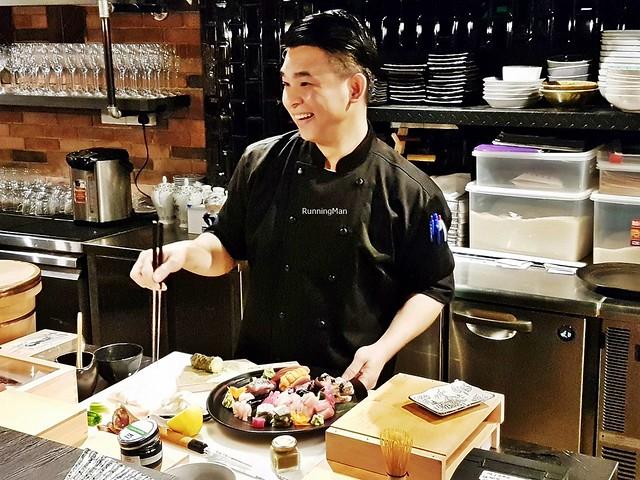 Chef 'Handsome' Anson - Head Chef