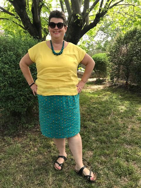 Christmas skirt 2017