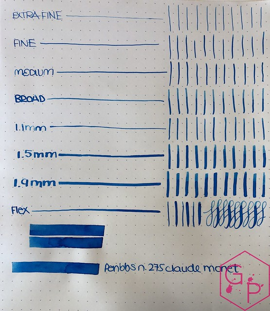Ink Shot Review PenBBS Claude Monet @cohobbyist 11