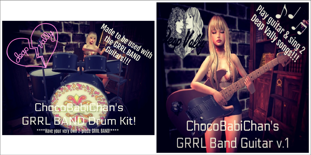 FREE GRRL BAND ROCK SET!!!!