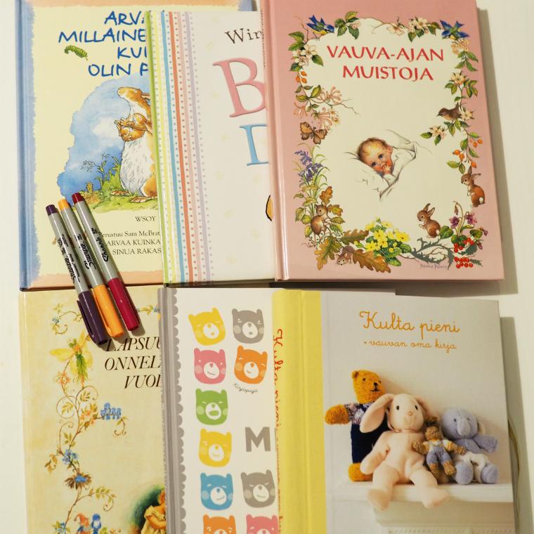 vauvakirjat