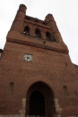 FR10 8972 L'église Notre-Dame de l'Assomption. Villefranche-de-Lauragais, Haute-Garonne