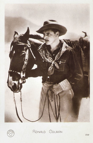 Ronald Colman in The Winning of Barbara Worth (1926)