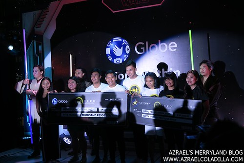 Globe ForceWithin Globe and Fightsaber Donates
