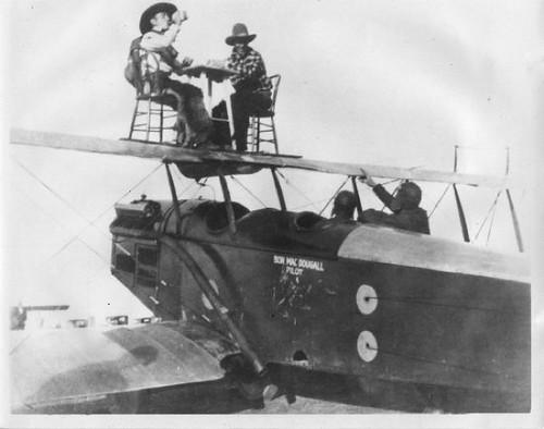 Mystery Coin Dealer Stunt Pilot