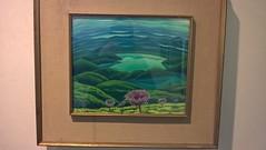 """""""Il lago Trasimeno"""" di Gerardo Dottori."""