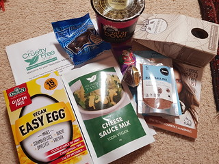 CFS December 2017 Vegan Mystery Box