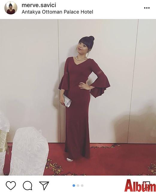 Diyetisyen Merve Savıcı katıldığı bir düğün töreninden bu fotoğrafı paylaştı.