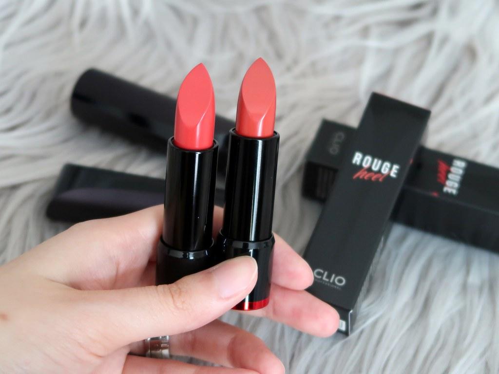 Clio Rouge Heel Lipsticks
