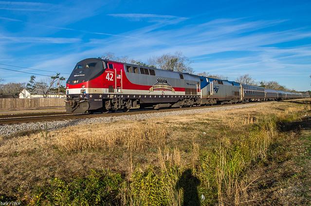 Amtrak Veterans Unit on P097