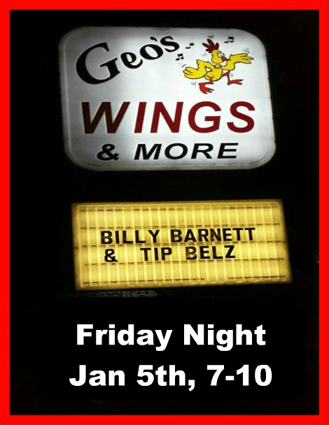 Billy Barnett & Tip Belz 1-5-18