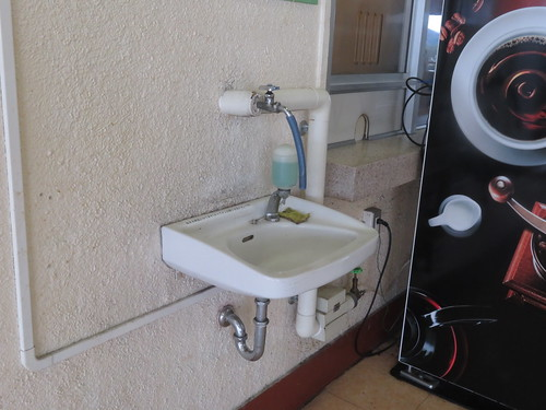 金沢競馬場の洗面所