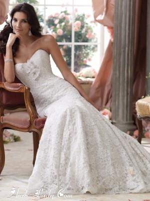 فساتين زفاف ناعمة لكل عروس تعشق التميز