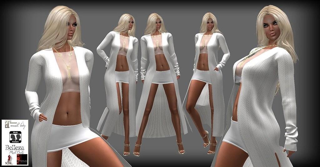 Kira Outfit White a