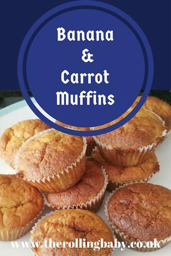 Banana & Carrot Muffins (1)
