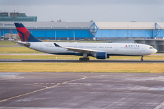N814NW | Airbus A330-323 | Delta Airlines | Schiphol Airport (EHAM/AMS) | 14/12/2017