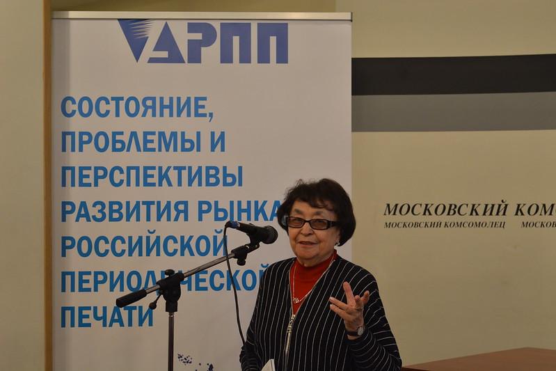 Софья Дубинская, исполнительный директор Альянса руководителей региональных СМИ (АРС-Пресс)