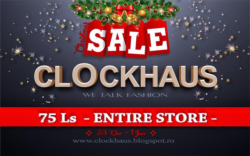 ClockHaus Christmas SALE - TeleportHub.com Live!