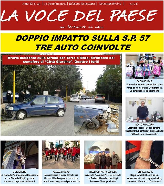 Noicattaro. Prima pagina n. 45-2017 intero
