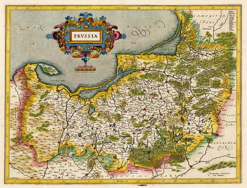 Gerard Mercator - Prussia (1619)