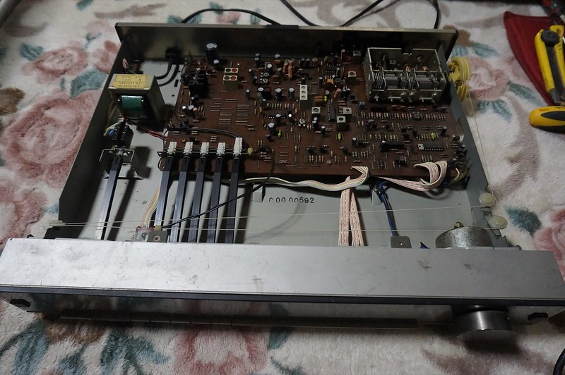 Hand made and self repair to Audio