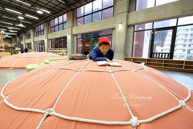 【台北親子免費景點】新北市立圖書館江子翠分館兒童室26