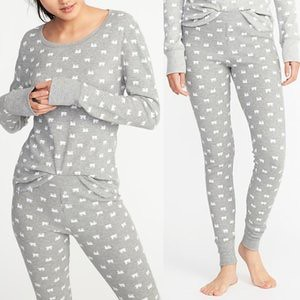 Old Navy Thermal Pajama Set for Women