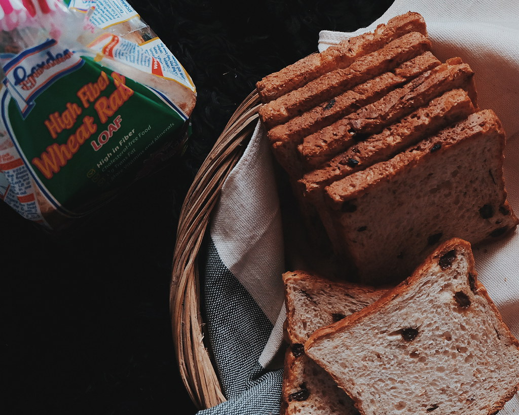 Gardenia High Fiber Wheat Raisin Loaf (600g