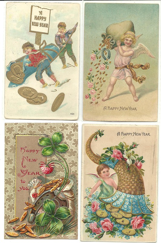 New Years Post Cards1