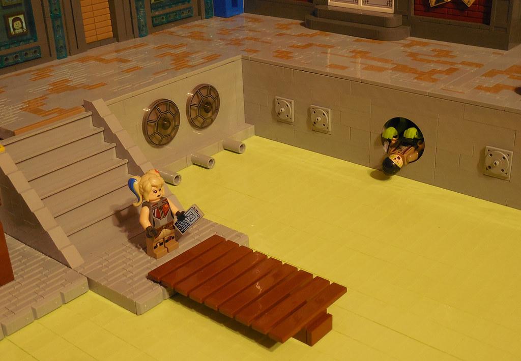 LEGO® MOC by Vitreolum: Cyberpunk #6 – Graveyard Shift