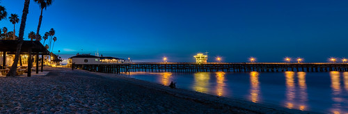 california hdr nikon nikond5300 pacificocean sanclemente sanclementepier beach dawn geotagged longexposure ocean palmtree palmtrees panorama panoramic pier reflection reflections sky sunrise water unitedstates bluehour