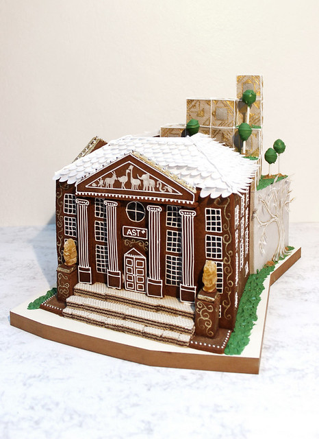 Gingerbread City Entry, a Museum of Architecture Competition