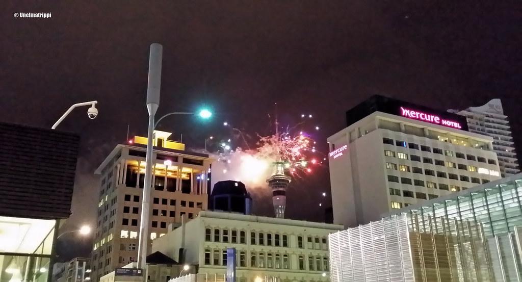 Ilotulitus Aucklandissa vuodenvaihteessa 2014-2015
