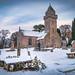 Churchyard in winter...