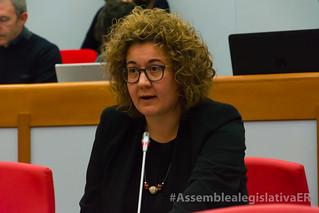 Manuela Rontini interviene in Aula sulla nuova legge urbanistica regionale