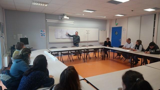 Le CVL du lycée René Cassin travaille sur la sécurisation des abords de l'établissement