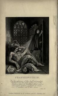 1831 edition of Frankenstein image2