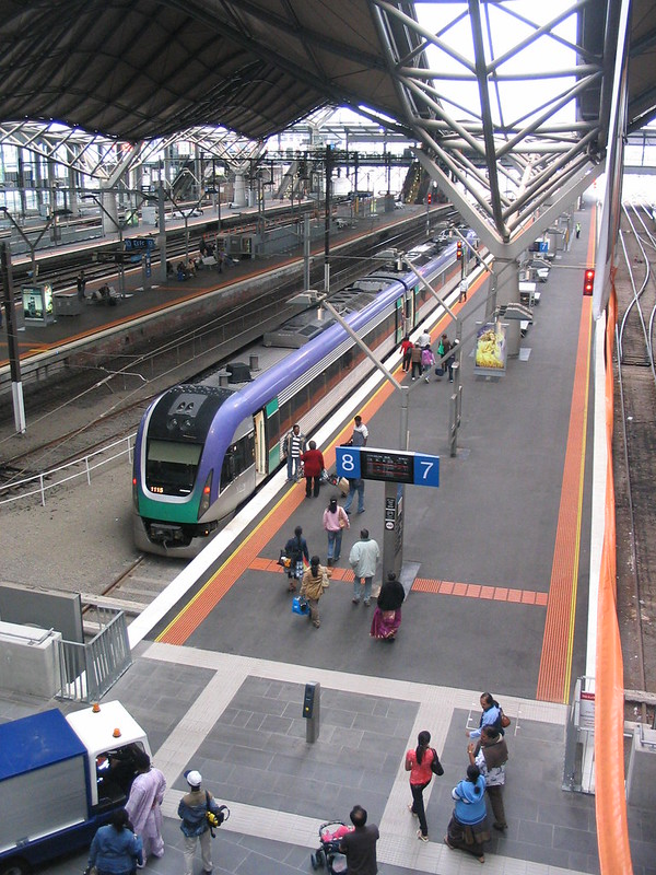 Southern Cross Station, Christmas Day 2007