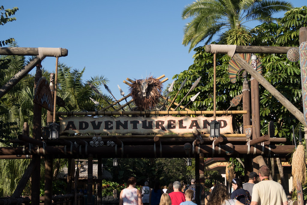 Adventureland Sign at Magic Kingdom