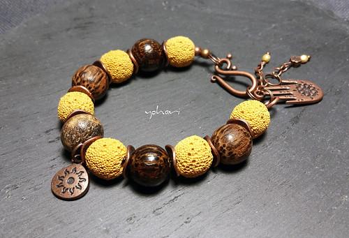 a natural bracelet