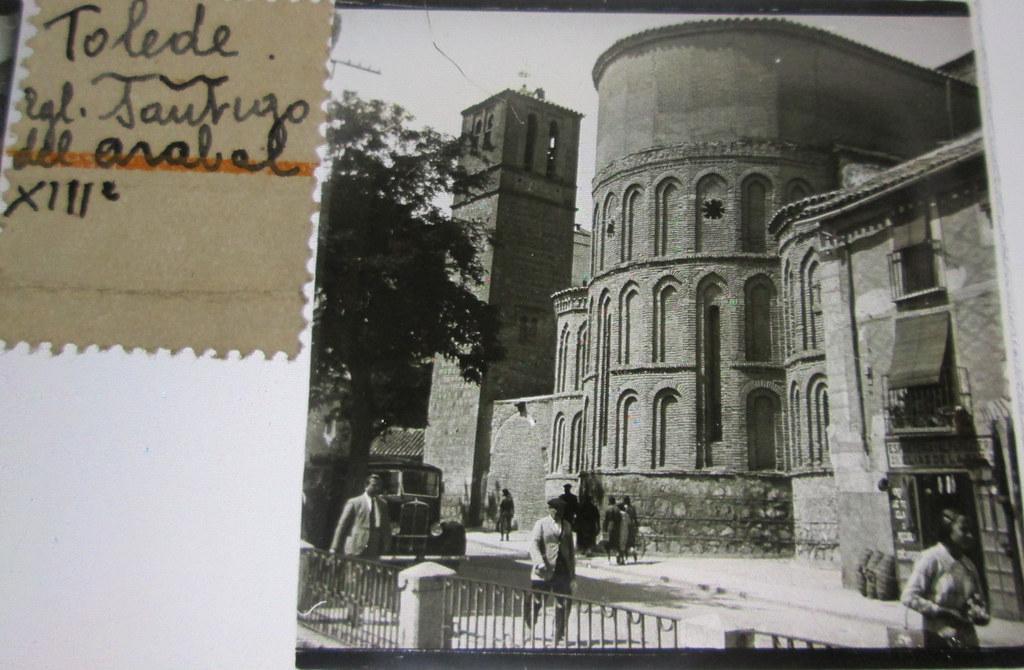 Santiago del Arrabal   hacia 1935. Cristal estereoscópico de autor anónimo francés.